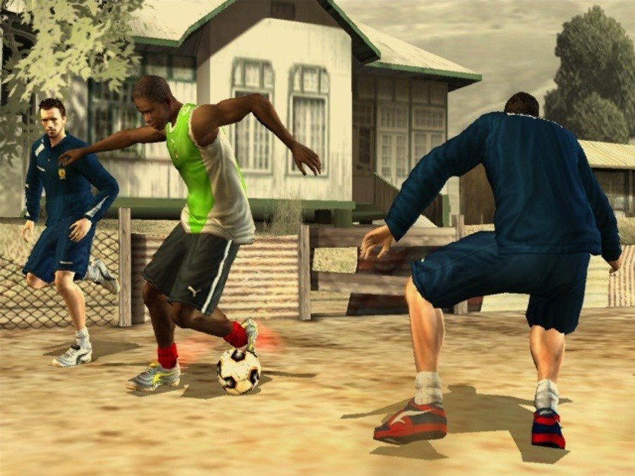 FIFA Street 2 Screenshot