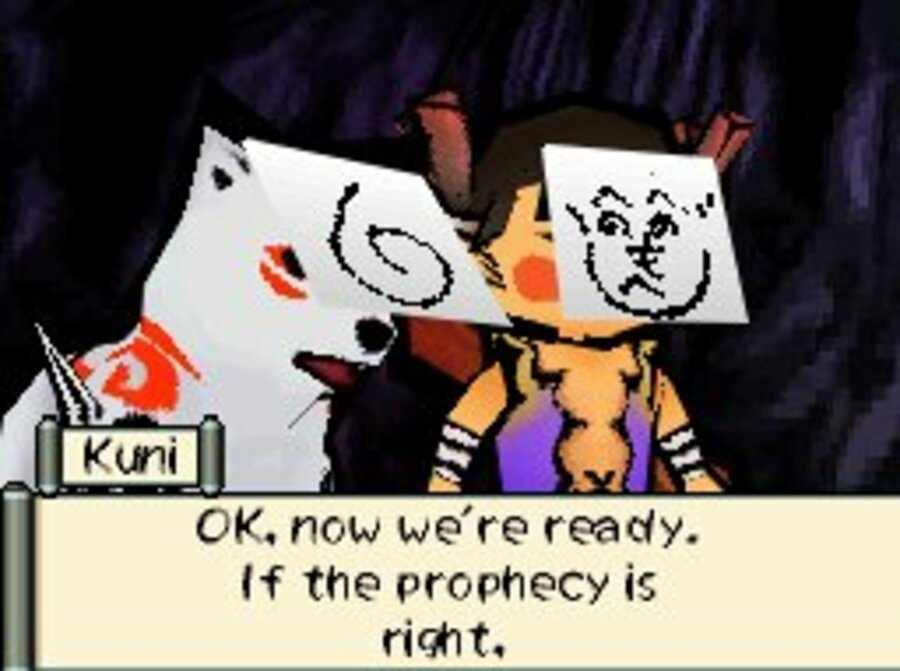 Okamiden Screenshot