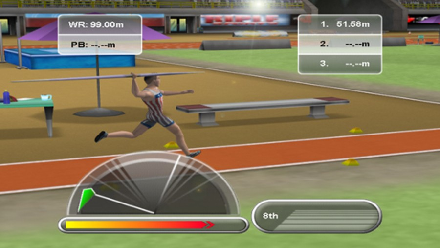 Triple Throwing Sports Screenshot