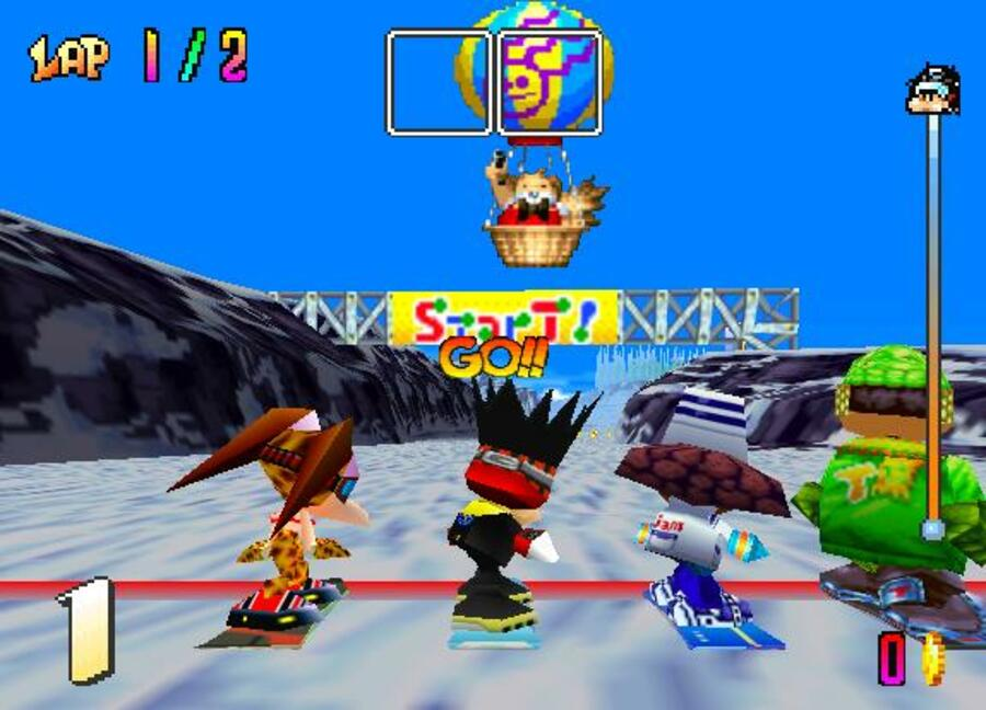 Snowboard Kids Screenshot