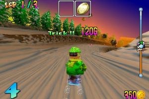 Snowboard Kids Screenshot