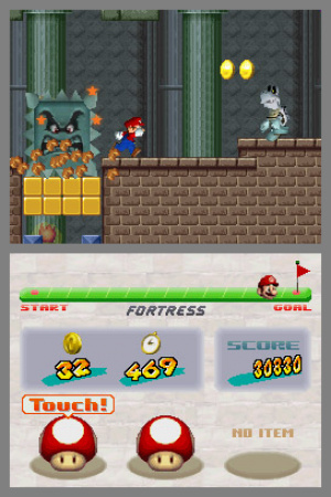 New Super Mario Bros. Review - Screenshot 1 of 4