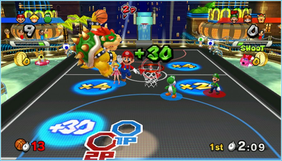 Mario Sports Mix Review - Screenshot 1 of 6