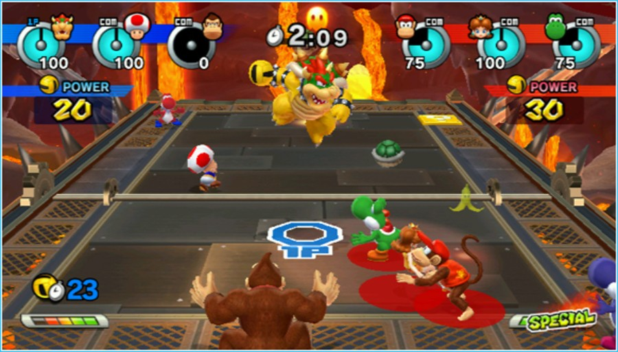Mario Sports Mix Screenshot