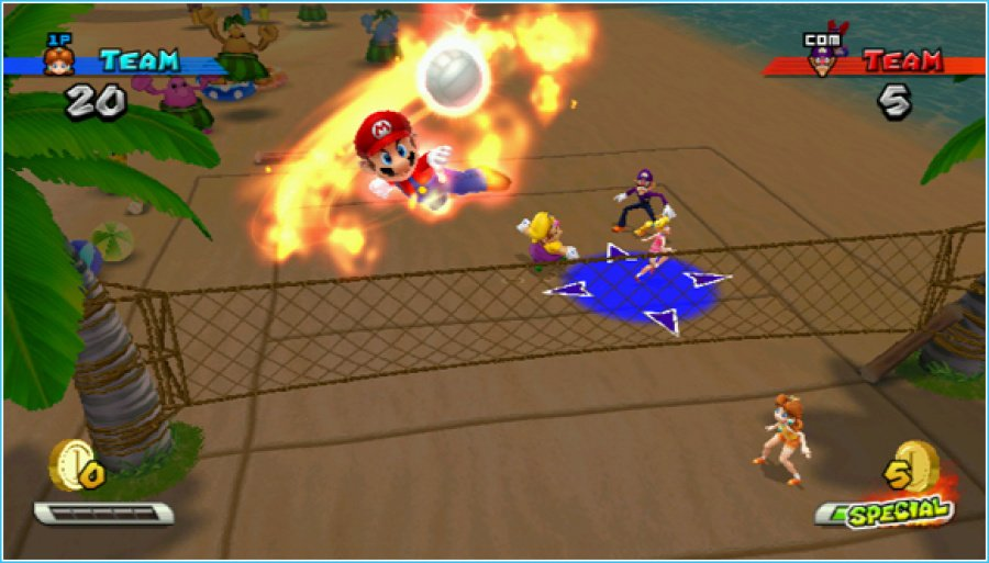Mario Sports Mix Review - Screenshot 5 of 6