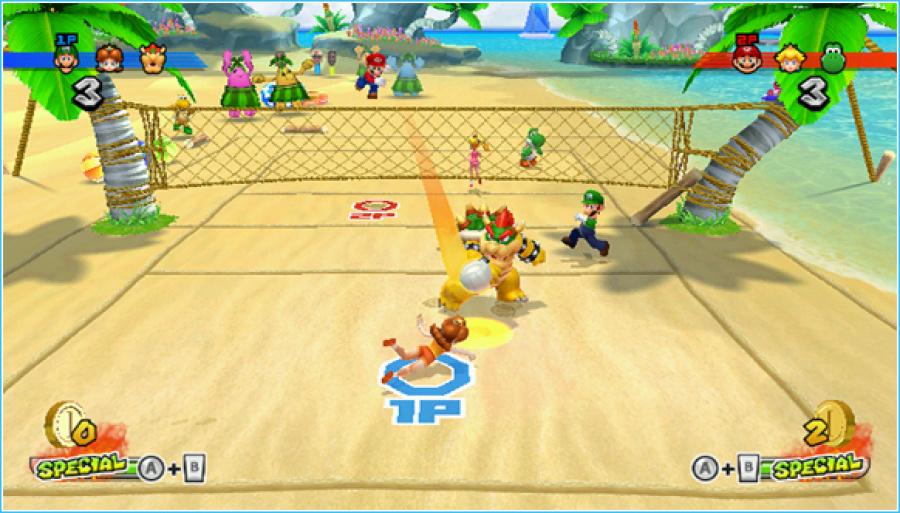 Mario Sports Mix Review - Screenshot 1 of 6