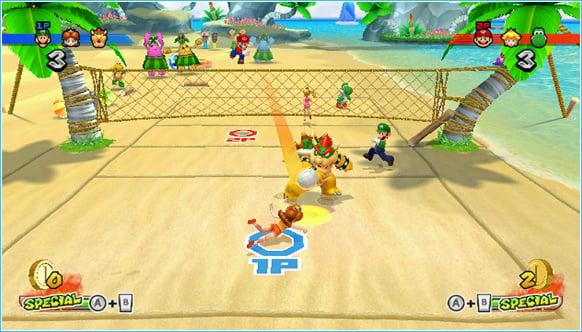 Mario Sports Mix Screenshot