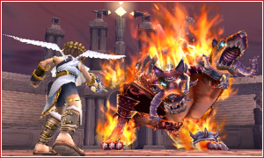 Kid Icarus: Uprising Screenshot