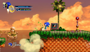 Sonic the Hedgehog 4: Episode 1 Review - Screenshot 2 of 6