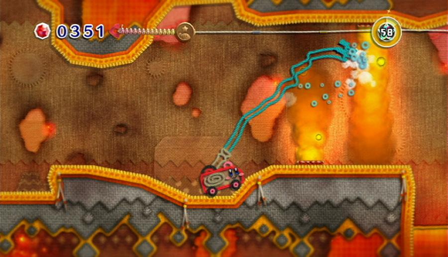 Kirby's Epic Yarn Review - Screenshot 5 of 5