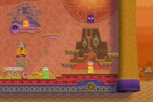 Kirby's Epic Yarn Screenshot