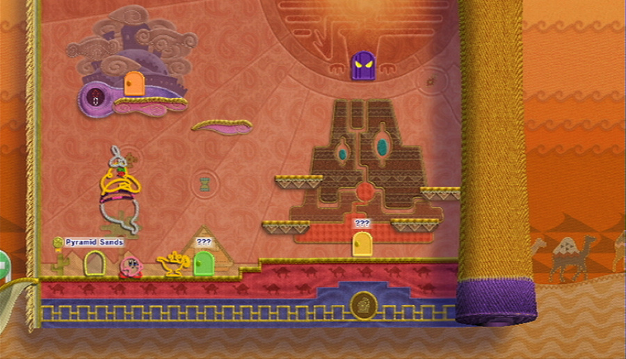 Kirby's Epic Yarn Review - Screenshot 1 of 5