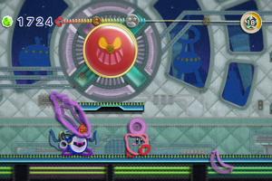 Kirby's Epic Yarn Screenshot