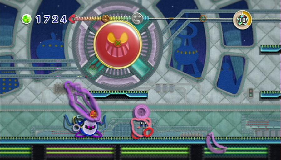 Kirby's Epic Yarn Review - Screenshot 4 of 5