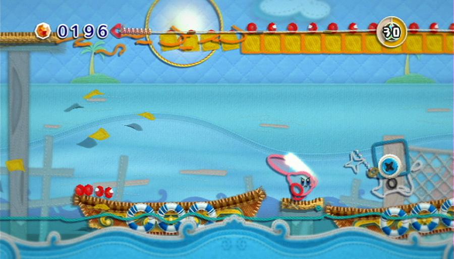 Kirby's Epic Yarn Review - Screenshot 3 of 5