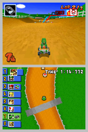 Mario Kart DS Review - Screenshot 2 of 5