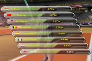 Triple Jumping Sports Screenshot