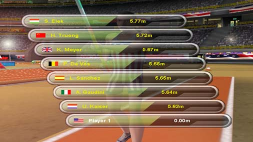 Triple Jumping Sports Screenshot
