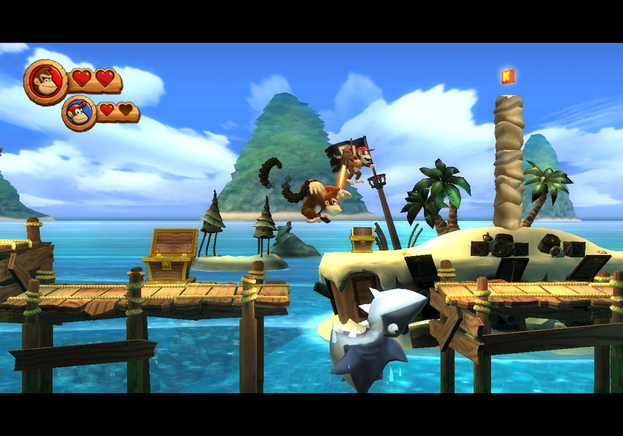 Donkey Kong Country Returns Wii Торрент