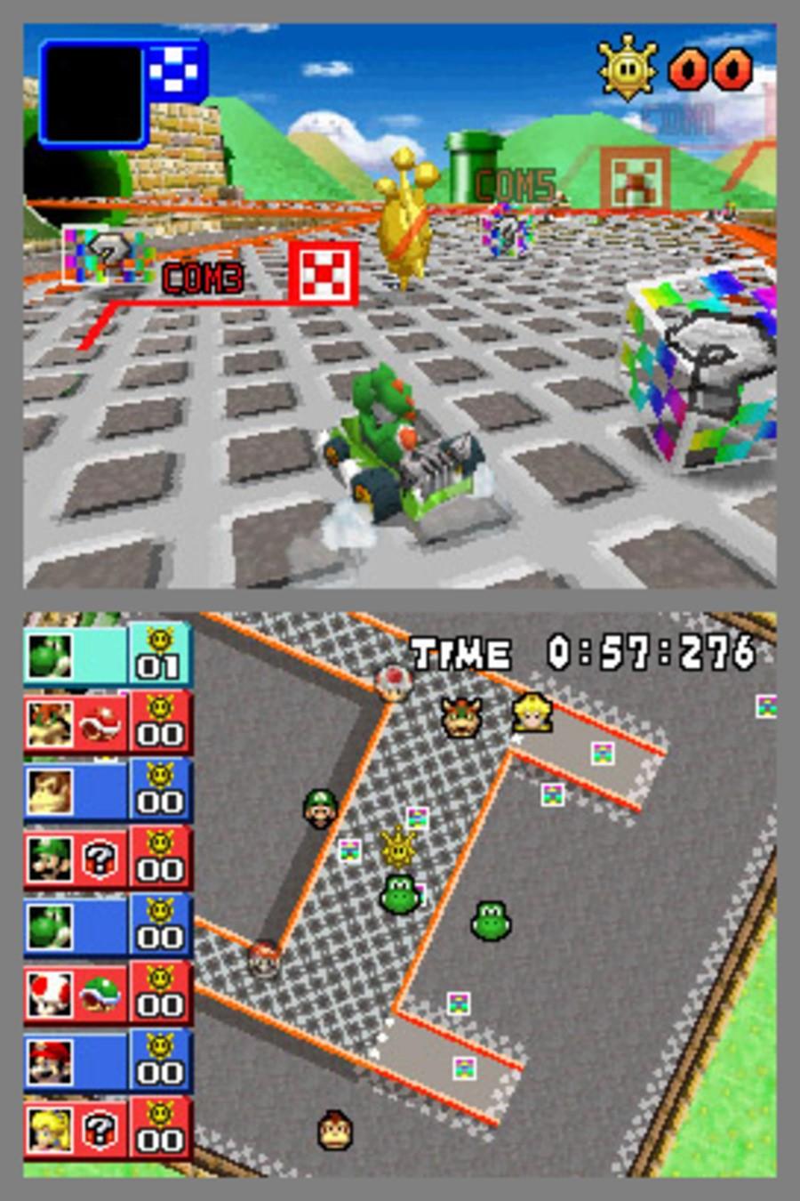 Mario Kart DS Screenshot