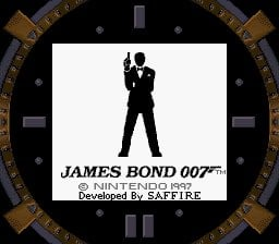 James Bond 007 Screenshot