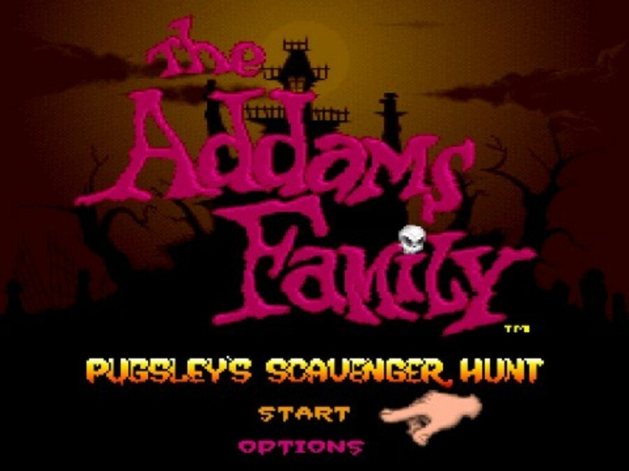 The Addams Family: Pugsley's Scavenger Hunt Screenshot