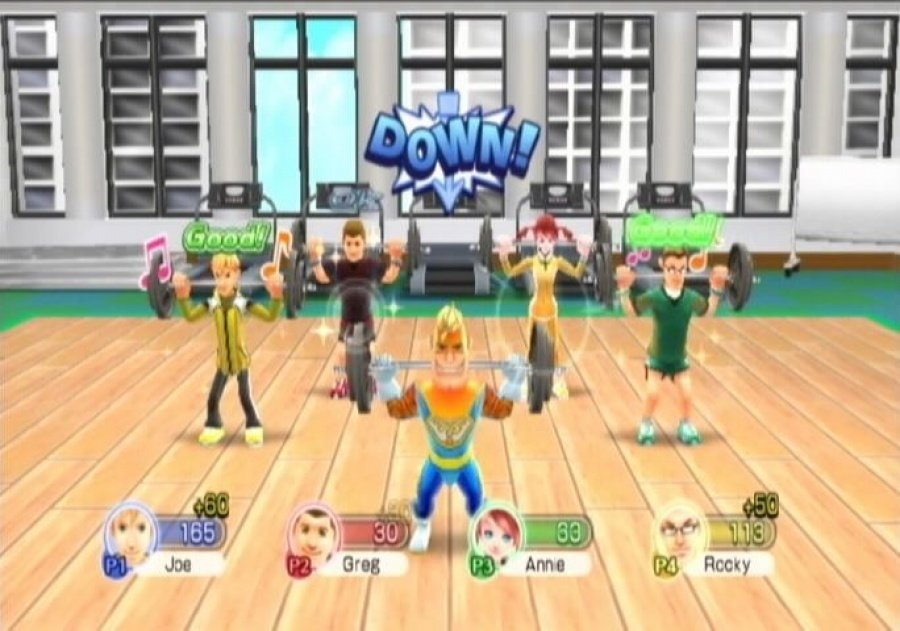 Family Party: Fitness Fun Review - Screenshot 1 of 4