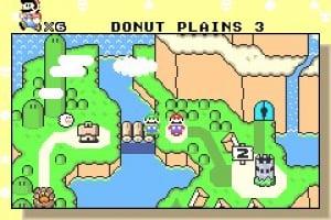Super Mario Advance 2: Super Mario World Screenshot