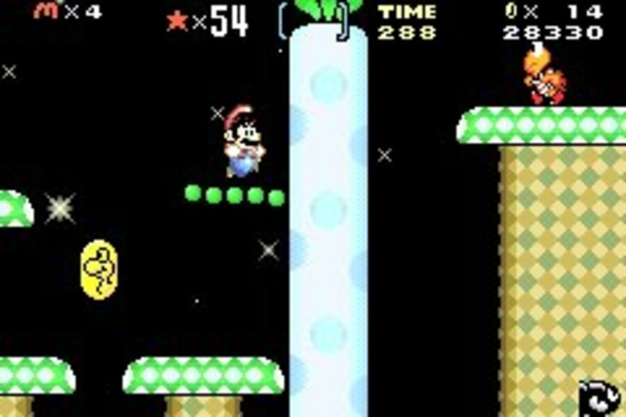 Super Mario Advance 2: Super Mario World Screenshot