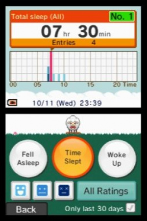 Sleep Clock: Record and Analyse Your Sleep Patterns Review - Screenshot 1 of 2