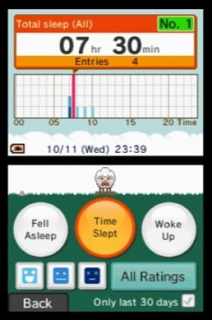 Sleep Clock: Record and Analyse Your Sleep Patterns Review - Screenshot 2 of 2