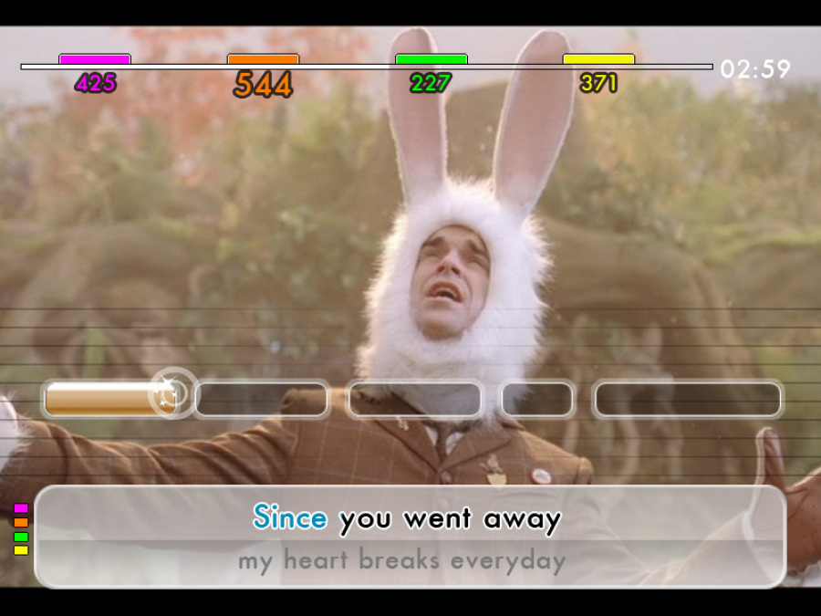 We Sing: Robbie Williams Review - Screenshot 2 of 4