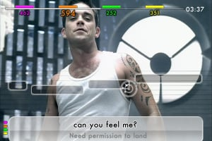 We Sing: Robbie Williams Screenshot