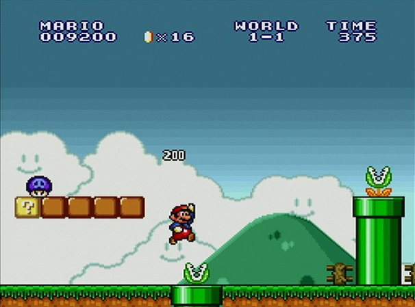 Super Mario All-Stars 25th Anniversary Edition Screenshot