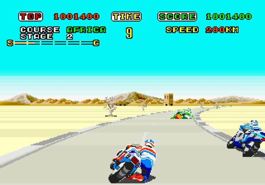 Super Hang-On Screenshot