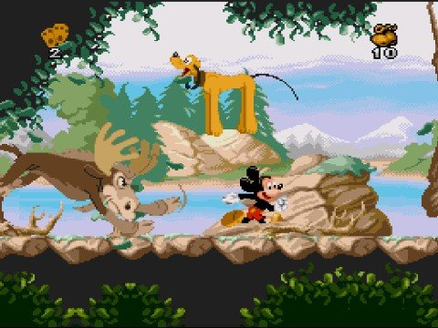 [Análise Retro] - Mickey Mania - Genesis/SNES/SEGA CD/Playstation Large