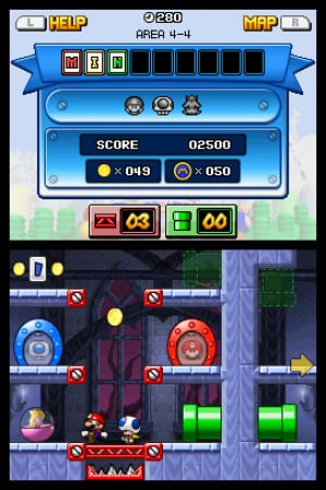 Mario vs. Donkey Kong: Mini-Land Mayhem! Review - Screenshot 1 of 4