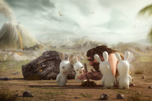 Raving Rabbids Travel in Time Screenshot