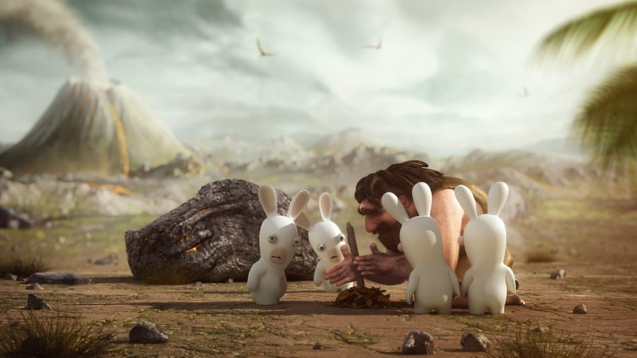 Raving Rabbids Travel in Time Review - Screenshot 1 of 5