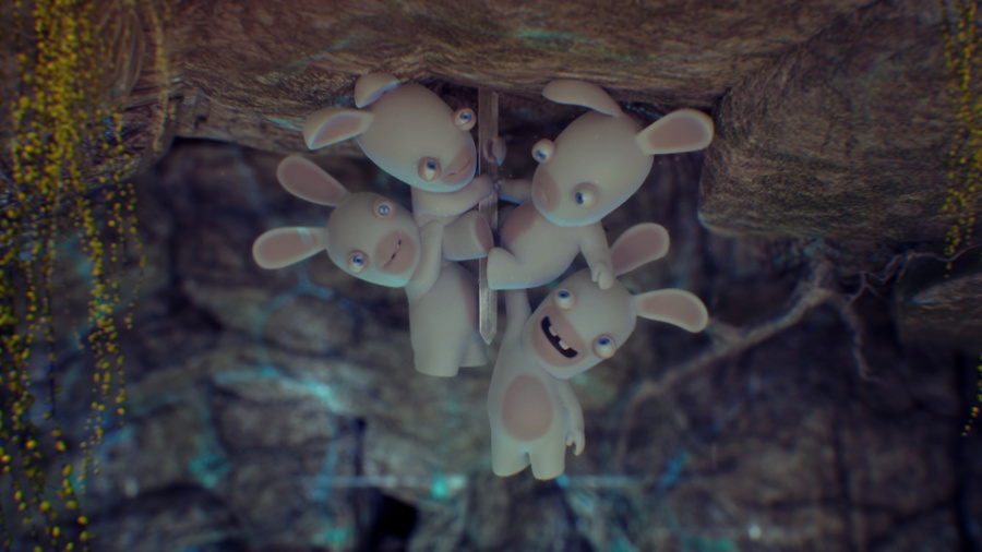 Raving Rabbids Travel in Time Review - Screenshot 1 of 4