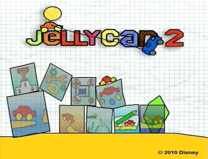JellyCar 2 Screenshot