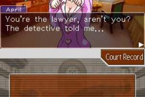 Phoenix Wright: Ace Attorney Screenshot