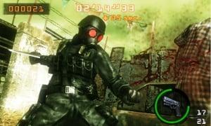 Resident Evil: The Mercenaries 3D Review - Screenshot 3 of 6