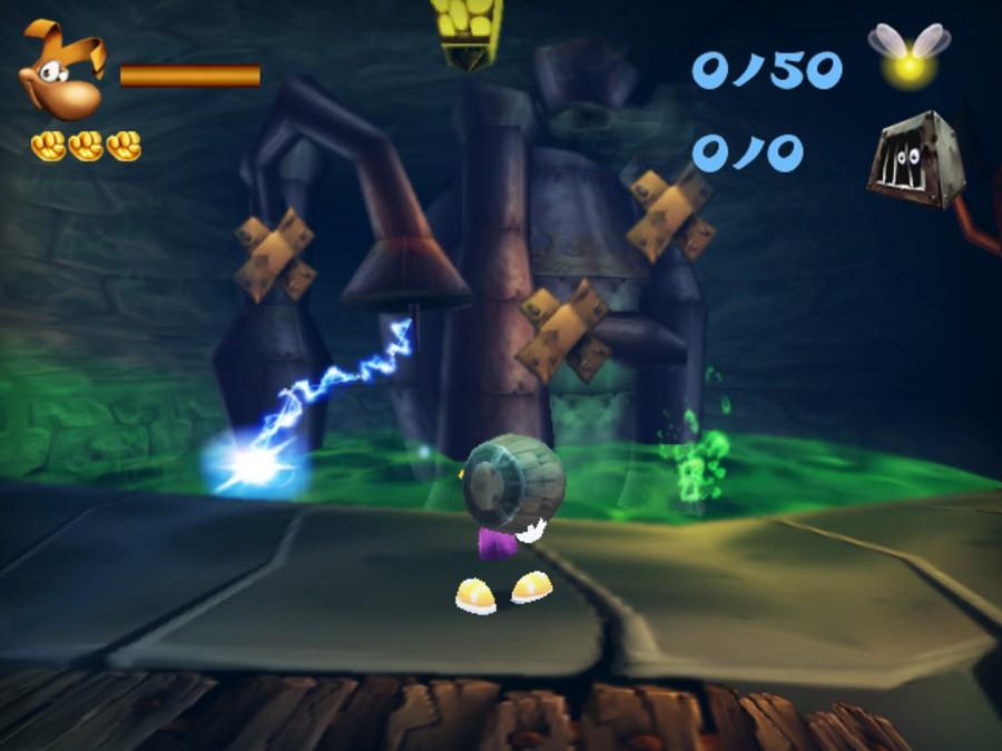 Rayman 3D Screenshot