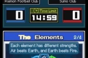 Inazuma Eleven Screenshot