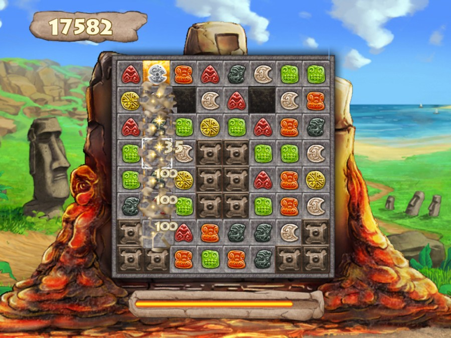 Jewel Keepers: Easter Island Screenshot