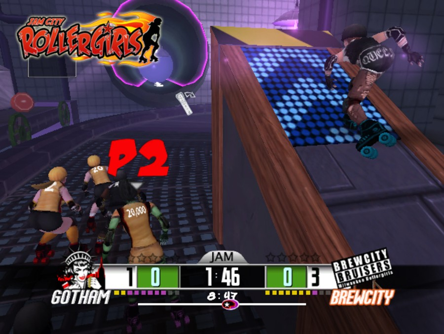 Jam City Rollergirls Screenshot