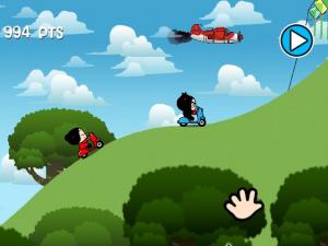 Pucca's Kisses Game Review - Screenshot 2 of 3