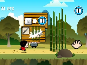 Pucca's Kisses Game Review - Screenshot 2 of 4