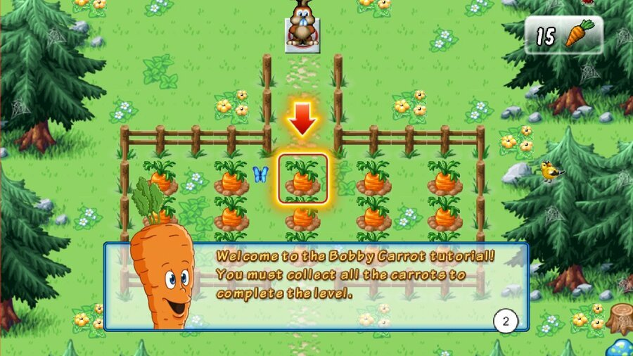 Bobby Carrot Forever Screenshot